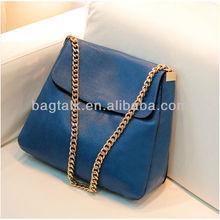 New design metal chain fashion messenger bag lady handbag