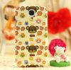 Lovely korean cartoon little bear printed cartoon hard case for samsung glaxy s4 OEM//Factory supply