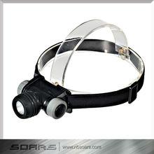 Waterproof Headlamp Cree LED 3AAA Waterproof Headlight ABS 120 lumens