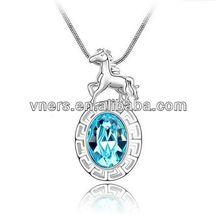 design flash necklacefashion diamon crystal pave crystal necklace