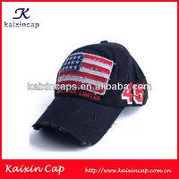 custom classical 6 panel American flag style baseball cap/hat/USA stars and stripes flag style baseball cap