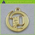 Personalizado diseño nuevo de oro colgante, y encantos colgantes