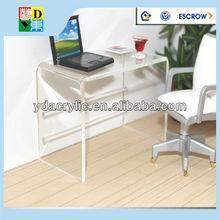Custom acrylic computer desk
