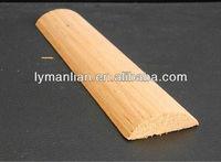 china 1/2 round teak wood moulding