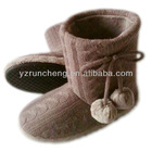 warmly fashion women indoor boot,soft shoes