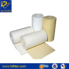 suzhou huilong supply high quality 100% PTFE/PP/PE/NOMEX/PPS/P84 Dust Collecter non-woven Filter cloth
