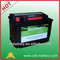 koyama de plomo ácido de la batería del coche del automóvil batería libre de mantenimiento
