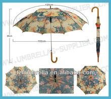 Umbrella Curved Wooden Handle