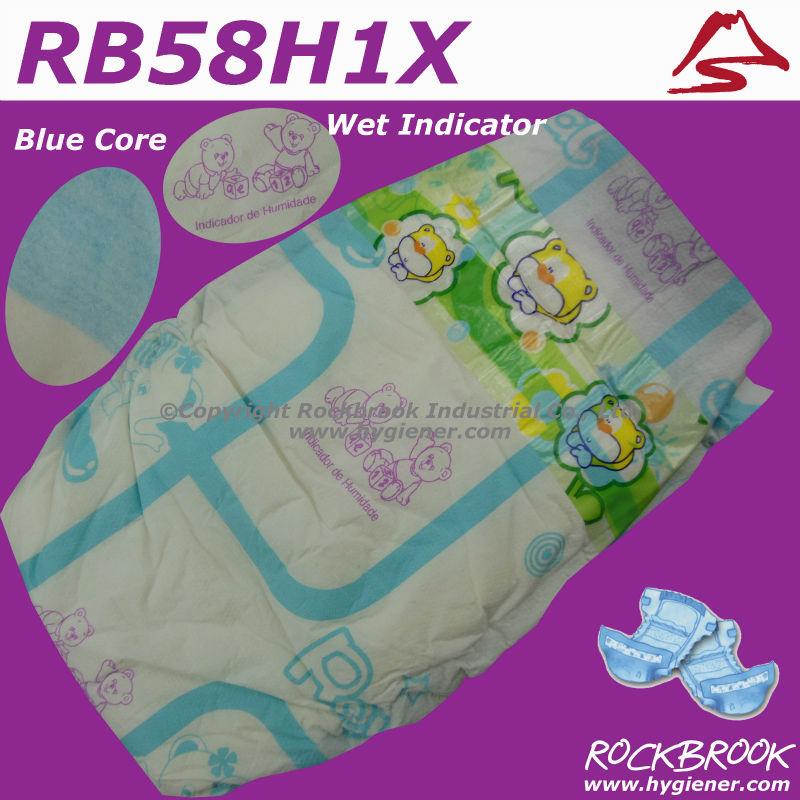 Cheap super absorbent sleepy baby diaper