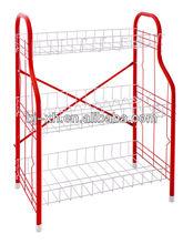 Anti-rust 3-Tier Iron Wire kitchen dish drain shelf