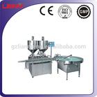 Automatic twin heads wax filling machine