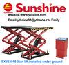 car workshop equipment,scissor small lift (SXJS3018)