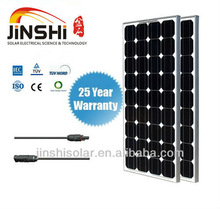 100w Mono PV Solar panel for Solar Power System