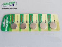 cr2032 botton cells batteries from pro manufacturer