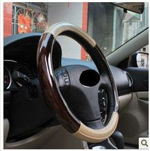 Hight quality leather Steering Wheel Covers
