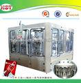 botella automática de gaseosas carbonatadas de llenado de la máquina