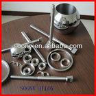 hot sale nickel base alloy hastelloy C276 rod/ring/valve ball/seat china factory shanghai manufacturer