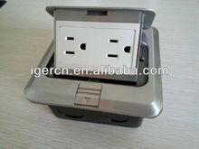 aluminum alloy pop up Floor Socket HDC01-YTW115(America style)
