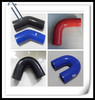 Shipped to Germany Polyester Reinforced 90 degree Elbow Silicone Rubber Hose