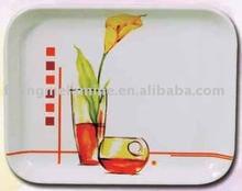 Melamine small rect tray