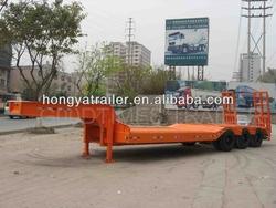 3 Axles Lowbed Semitrailer