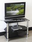 Modern plasma glass tv stand