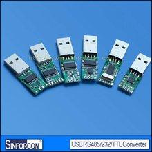usb uart serial converter adapter, CP2102,FT232,PL2303, USB UART 232/TTL/485 converter board