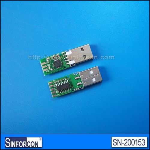 Usb UART série convertisseur adaptateur, Cp2102, Ft232, Pl2303, Usb UART 232 / TTL / 485 carte de convertisseur