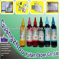 Hot sale Waterproof CYMK UV dye ink