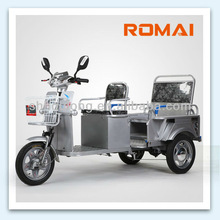 Romai e rickshaw 48V 500W Electric tricycle supplier