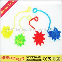 Sticky YOYO Hammer Toys, Sticky Meteor, Small TPR Ball