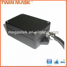 security gps vehicle tracker with 1 output switch Waterproof (IP63) GPS gate