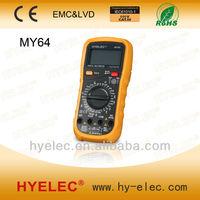 MY64 With Temperature Test Pocket Digital Multimeter