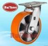 Heavy duty caster wheel Swivel top plate with Aluminium core polyurethane wheel