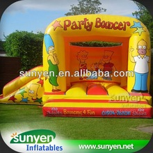 Simpson Family Character Inflatable Baby Combos Slide