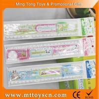Promotioanal plastic maze safety brand plastic letter stencil ruler