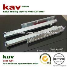 kav brand undermounted push open drawer runner
