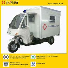 SHINERAY Emergence New Ambulance Three Wheel Motorcycle For Sale