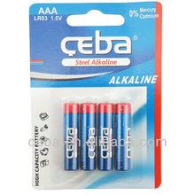 CEBA Alkaline Battery 1.5V AA LR6 AM3 Dry Battery