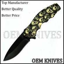 spring assisted plastic handle pocket knife