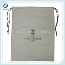 2013 wholesale cotton fabric drawstring bag