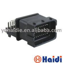 FCI male female plastic plug 24 pin connector HCCPHPE24BKA90F