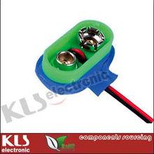 9V Battery Snap Connector UL CE ROHS KLS5-BC9V-03 9V Battery snap