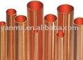 recta del tubo de cobre
