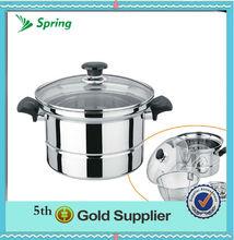 4pcs multifunctional pot&steamer pot&stock pot