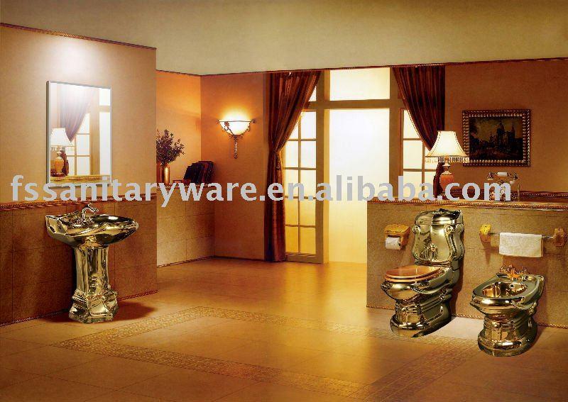 Set De Baño De Ceramica:Cuarto de baño de cerámica sanitaria ware set para el hotel