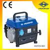 0.65kva 2 stroke small gasoline power generator, 1 cylinder gasoline engine