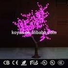 1.8m Best Seller led Christmas cherry tree light FZ-768 Pink