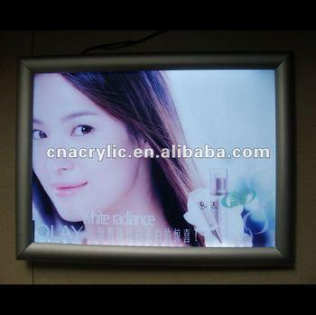 snap frame slim light box, cable light frames, led panel