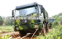 Special Military Vehicle HOWO 4x4/Cargo Truck